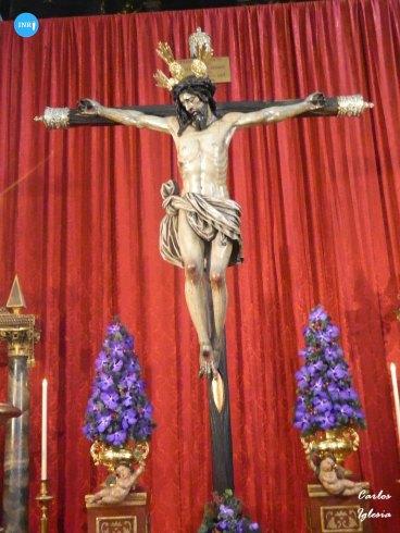Veneración de los titulares de la Virgen de la Palma y Cristo del Buen Fin // Carlos Iglesia
