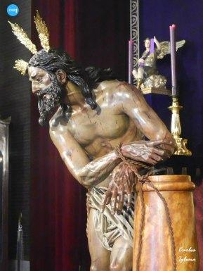 Veneración del Cristo atado a la columna de las Cigarreras // Carlos Iglesia