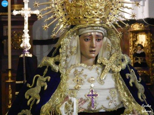 Veneración de los titulares de Montserrat // Carlos Iglesia