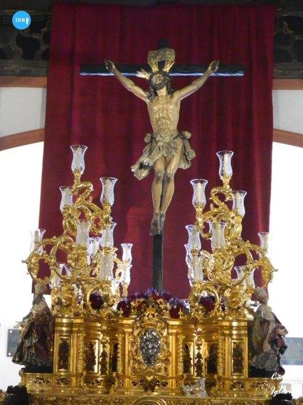 Paso del Cristo de la Expiración del Cachorro tras su reforma // Carlos Iglesia