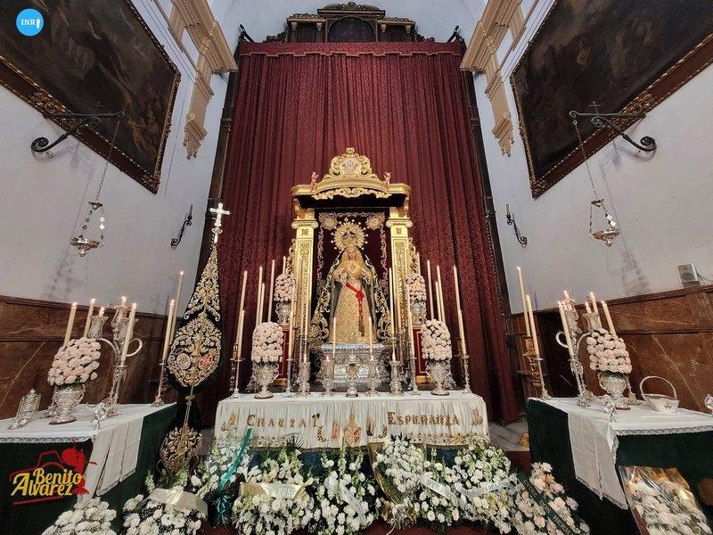 Virgen de Gracia y Esperanza de San Roque // Benito Álvarez