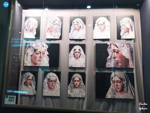 Exposición fotográfica de la Macarena con mantilla // Carlos Iglesia