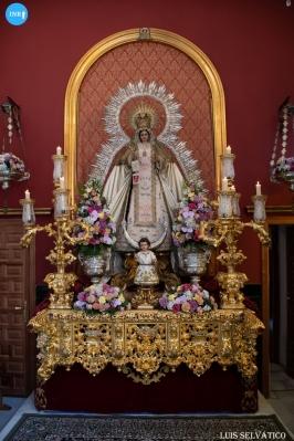 Veneración a la Virgen de las Mercedes de la Puerta Real // Luis Selvático