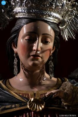 Veneración a la Virgen del Rosario, a la Virgen de la Cabeza Gloriosa y al Sagrado Corazón de Jesús de las Siete Palabras // Luis Selvático