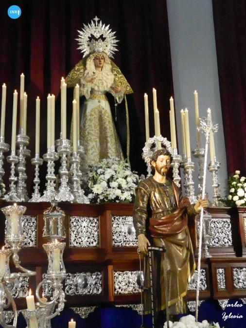 Veneración de San José Obrero // Carlos Iglesia
