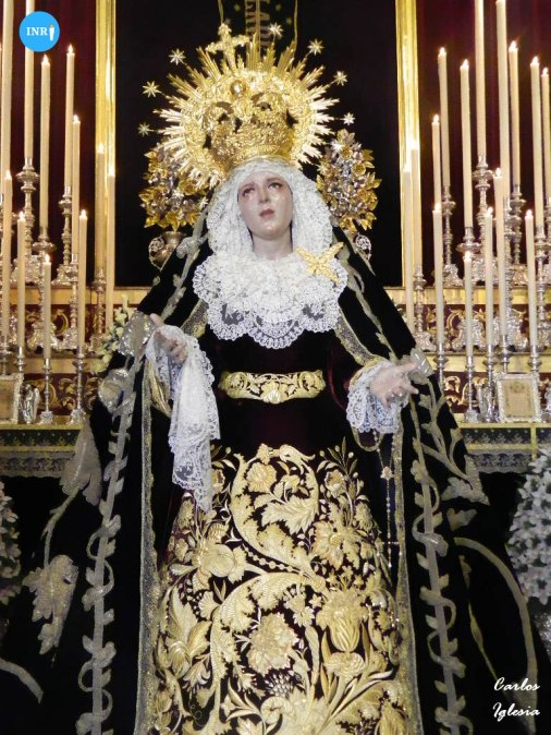 Veneración a la Virgen del Mayor Dolor en su Soledad de la Carretería // Carlos Iglesia