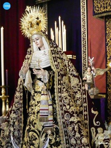 Veneración a la Virgen de la Victoria de las Cigarreras // Carlos Iglesia