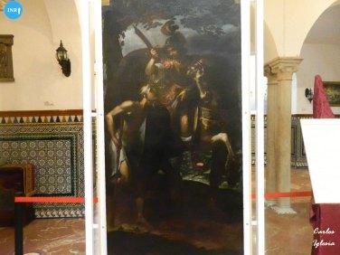 Cuadros del altar mayor de San Martín de la Lanzada // Carlos Iglesia