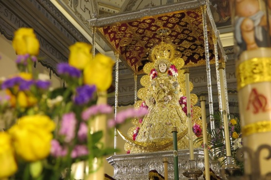 Virgen del Rocío en Pentecostés 2021