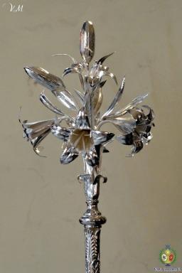 Bustonde San José Obrero y vara de azucenas