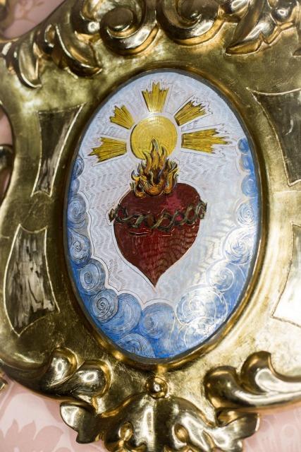 Respiraderos del antiguo paso de la Virgen de los Dolores del Cerro