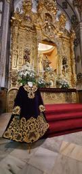 Túnica del Señor de los Afligidos de San Juan de la Palma
