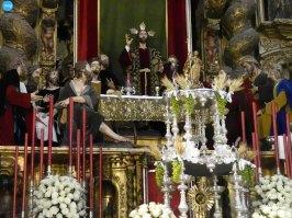 Altar de la Cena en el Corpus // Carlos Iglesia