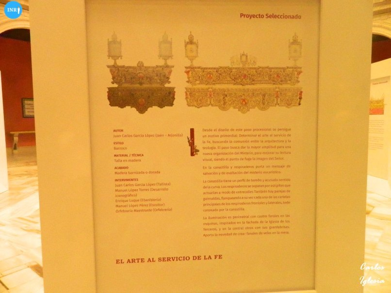 Exposición de la Cena con los proyectos seleccionados del misterio / Carlos Iglesia