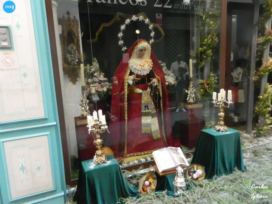 Escaparates eucarísticos en el Corpus // Carlos Iglesia