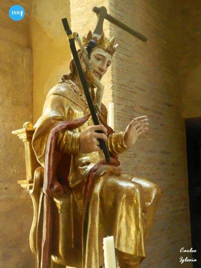 San Hermenegildo sedente // Carlos Iglesia