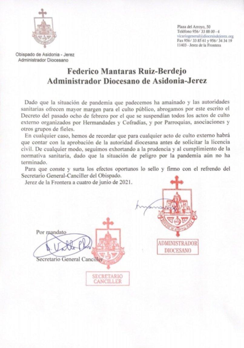 Decreto de Asodonia-Jerez