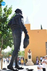 Monumento a Joselito el Gallo de la Macarena // Ángela Vilches