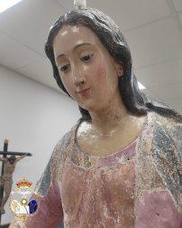 Restauración de la Virgen de la Esperanza de la Redención