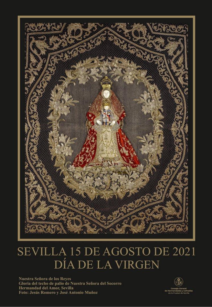 Cartel del Día de la Virgen