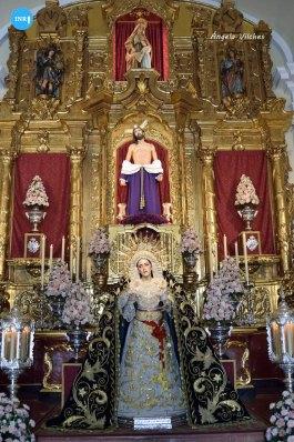 Veneración a la Virgen de los Dolores y Misericordia de Jesús Despojado // Ángela Vilches