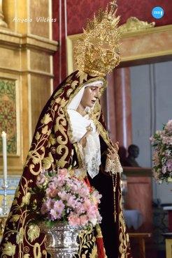 Veneracion de la Virgen de los Dolores del Cerro // Ángela Vilches