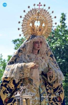 Rosario de la Virgen de las Mercedes de Santa Genoveva // Ángela Vilches